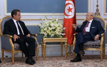 Sarkozy à Carthage: «Aucun pays n'est à l'abri du terrorisme»