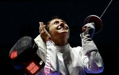 Mondial d'escrime: Sarra Besbes, médaille de bronze à l'épée