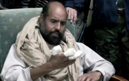 Libye: La Libération de Seïf Al-Islam Kadhafi confirmée par son avocat