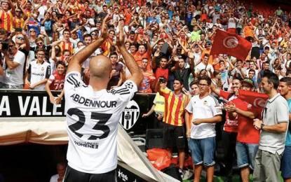 Football : Aymen Abdennour présenté aux supporters de FC Valence