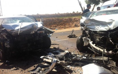 Accident à Ben Guerdane : Décès d'une mère et ses 2 enfants