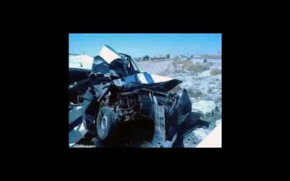 Feriana: 3 morts et 5 blessés dans un accident de la route