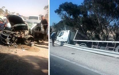 Gabès: 1 mort et 1 blessé dans un accident de la route