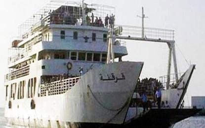 Des pêcheurs bloquent la liaison maritime entre Sfax et Kerkennah