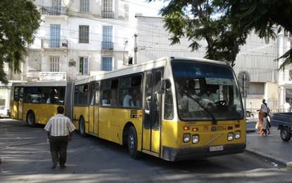 Tunisie : Les transports en commun autorisés à utiliser leur capacité maximale