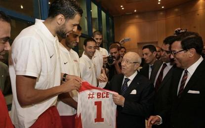 Caïd Essebsi donne le coup d'envoi de l'AfroBasket-2015