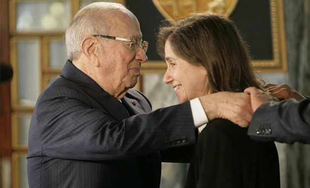 Caid-Essebsi-et-Maya-Jribi