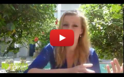 Campagne incessante de Carmen Hentshel au profit de la Tunisie