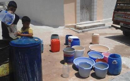 Redeyef : Des citoyens privés d'eau depuis 3 jours sous la canicule