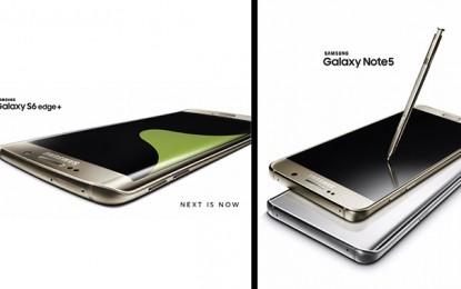 Samsung lance Galaxy S6 edge+ et Galaxy Note5