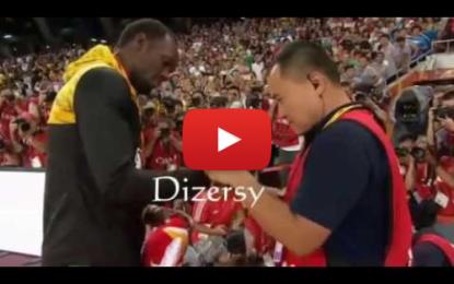 Le cameraman demande pardon à Usain Bolt