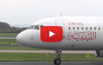 Un avion libyen atterrit aujourd'hui à l'aéroport de Tunis-Carthage