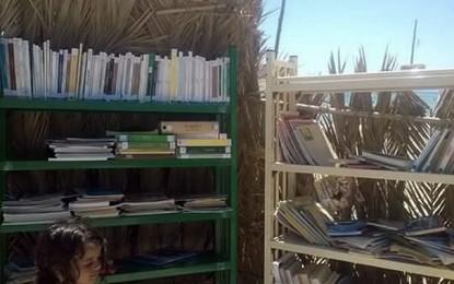 Des livres en bord-de mer à Ghar El-Melh