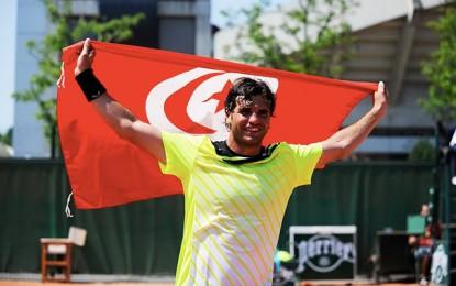 Tennis : Malek Jaziri gagne 7 places dans le classement ATP