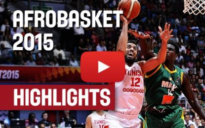Moments forts du match Tunisie – Mali (Afrobasket)