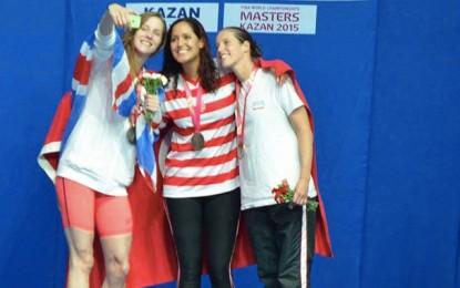 Natation : Sarra Lajnef championne du monde des Masters