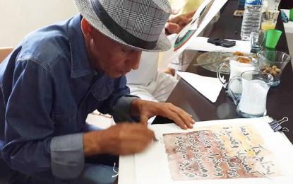 Des calligraphies pour redonner vie aux poèmes de Ouled Ahmed