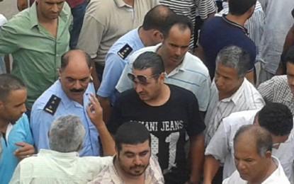 Sidi Bouzid: Sit-in des instits violemment dispersé par la police (Vidéo)