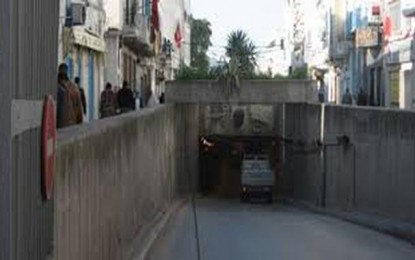 Tunisie : Interruption de la circulation aux tunnels de Bab Souika
