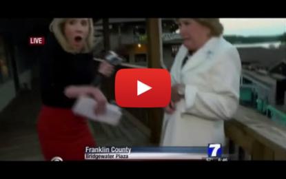 Scène de l'assassinat des deux journalistes américains de WDBJ TV