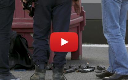 Reconstitution de l'attaque terroriste à bord du Thalys.
