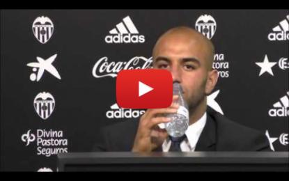 Conférence de presse de présentation de Abdennour à Valencia CF