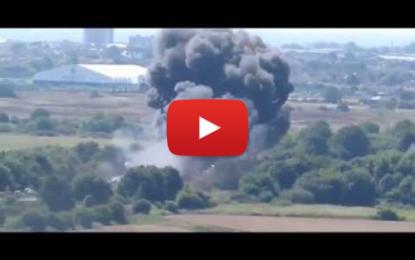 Le crash d'un jet fait au moins 7 morts au Royaume-Uni