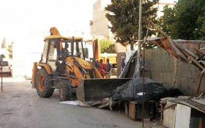 El-Mourouj 1: La municipalité détruit les commerces illégaux