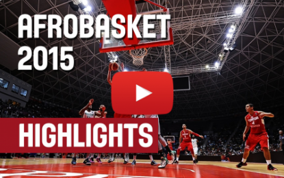 Moments forts du match Tunisie – Nigéria (Afrobasket)