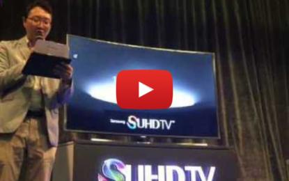 Samsung lance son dernier SUHD TV en Tunisie