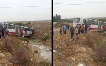 Zaghouan : 55 blessés dans un accident de la route