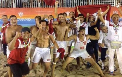 Beach handball : Les Tunisiens décrochent l'or à Pescara