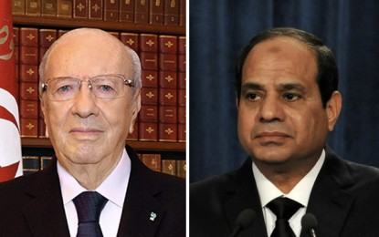 Visite officielle de Caïd Essebsi les 4 et 5 octobre en Egypte
