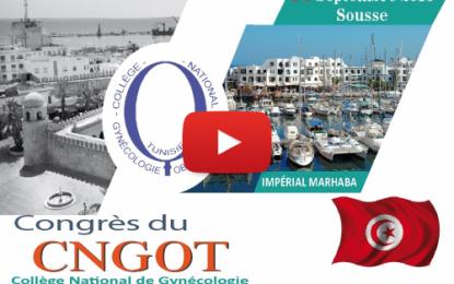 Congrès national de CNGOT à Sousse
