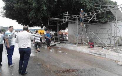 Moknine : Destruction de 18 kiosques construits illégalement
