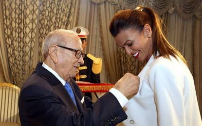 Habiba Ghribi honorée par le président Caïd Essebsi