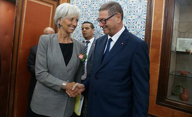 Habib-Essid-Christine-Lagarde