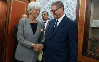 Le FMI examine aujourd'hui le dossier de la Tunisie