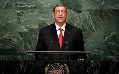 New York : Essid réitère l'engagement de la Tunisie pour la parité homme-femme