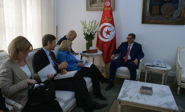 Habib-Essid-délegation-americaine