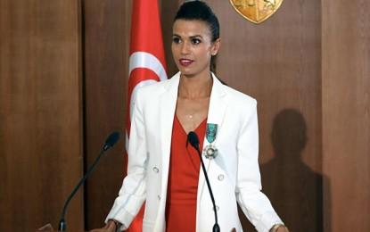 Habiba Ghribi médaillée d'or de la paix