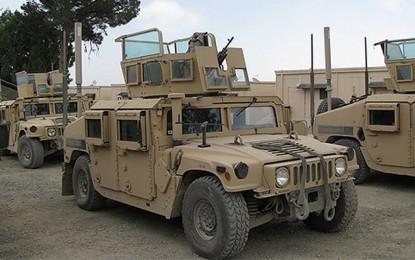 Défense: La Tunisie reçoit 27 autres Humvees de l'US Army