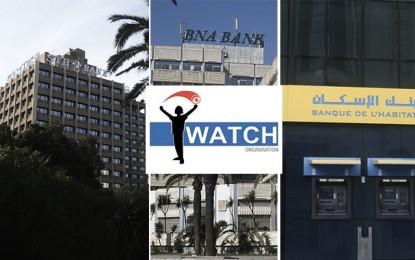 I Watch : Des cas de corruption dans les 3 banques publiques