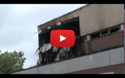 Incendie criminel dans un gymnase allemand destiné aux réfugiés