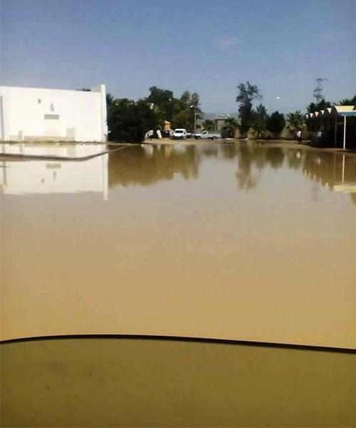 Inondations-hopital-de-Kasserine-2