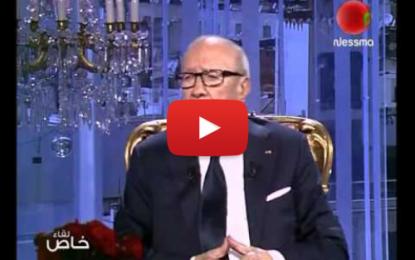 Interview de Béji Caïd Essebsi sur Nessma TV
