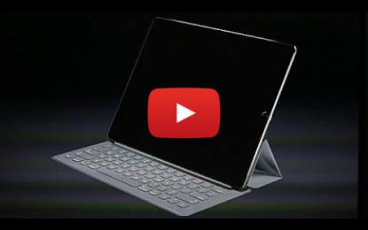 Le nouveau Ipad pro de Apple
