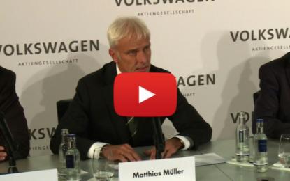 Matthias Müller nouveau PDG de Volkswagen