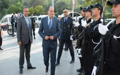 Kef : Le ministre de l'Intérieur inspecte les unités sécuritaires