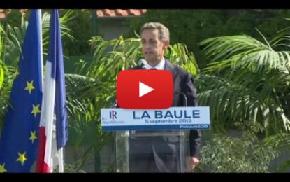"""Lapsus de Nicolas Sarkozy: """"La France a toujours été du côté des dictateurs"""""""